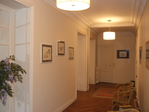 Salle d'attente du cabinet